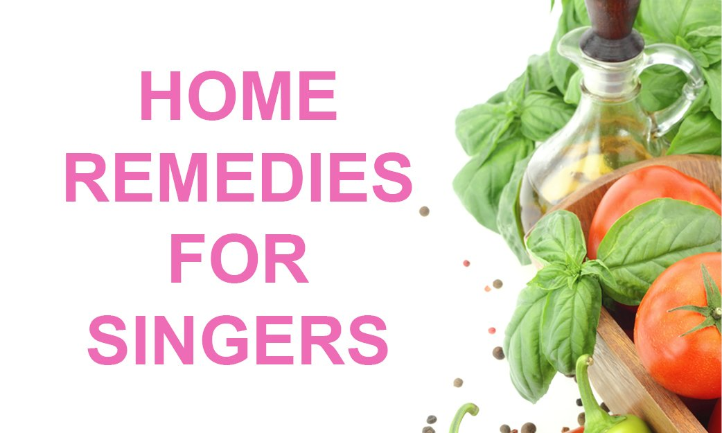 Home remedies to help you sing better