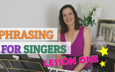 Phrasing For Singers – Lesson 1