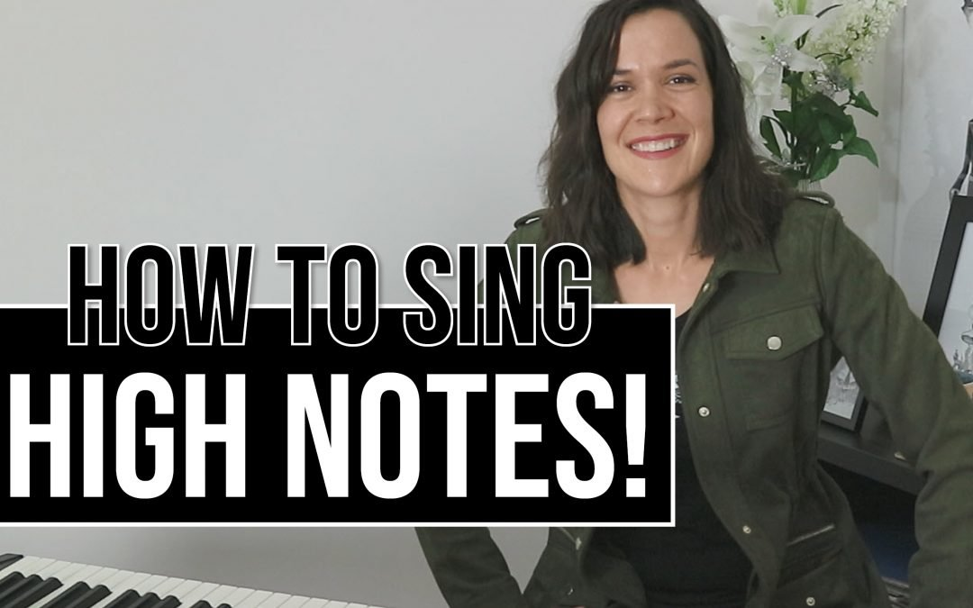 How To Sing High Notes Easily
