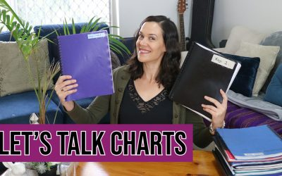 How I Organise My Chart Books For Gigs